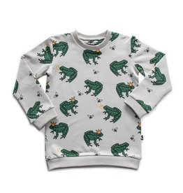 CarlijnQ CarlijnQ Frog Sweater (Maat 62/68 en 74/80)