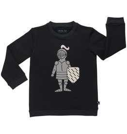 CarlijnQ CarlijnQ  Knighty print sweater (Maat 122/128 en 134/140)