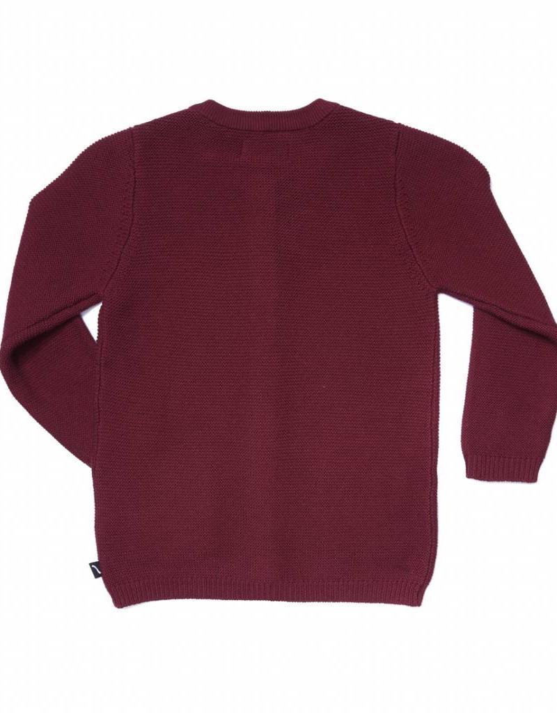 CarlijnQ CarlijnQ  gebreid vest burgundy (rood)