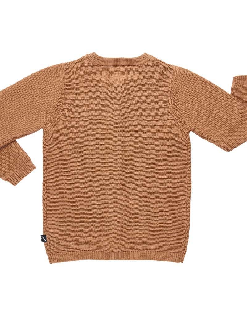 CarlijnQ | Nu -25% KORTING CarlijnQ  gebreid vest burgundy Caramel