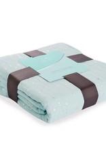 aden + anais aden + anais - Muslin Dream Blanket Metallic Skylight