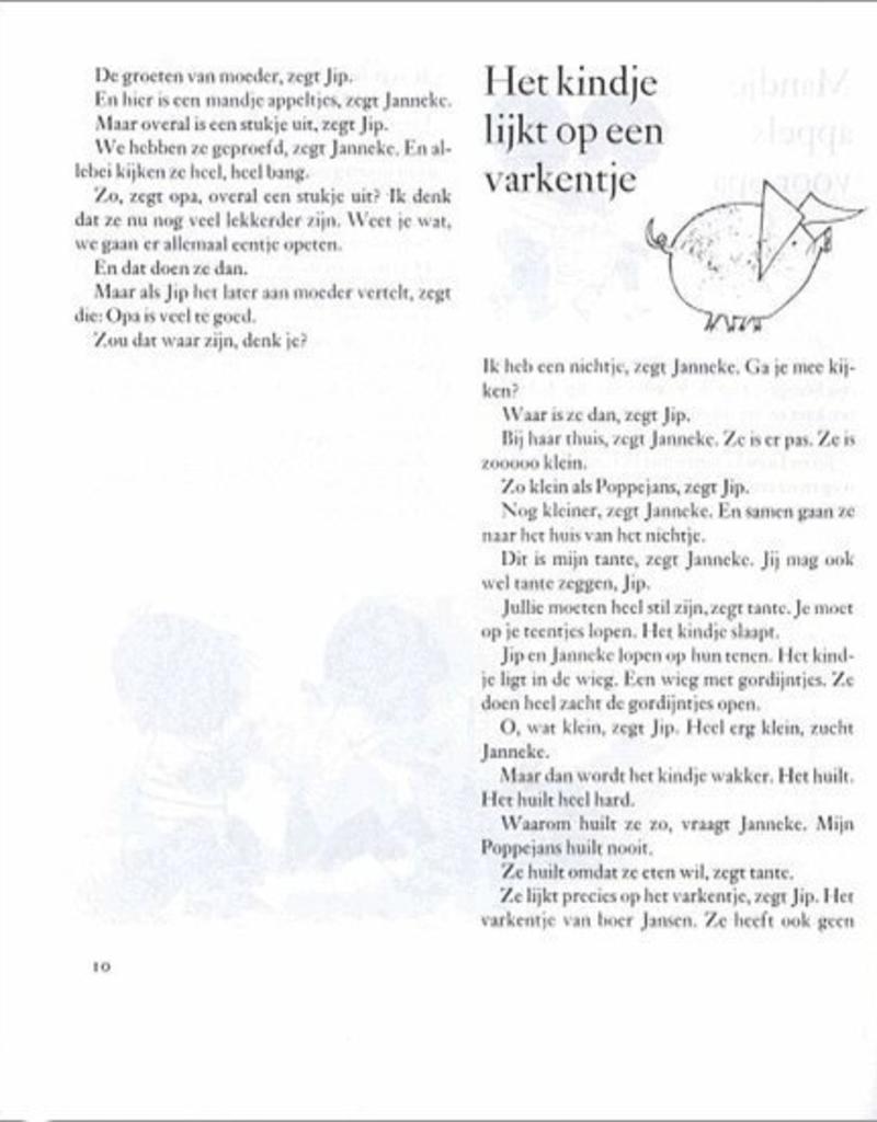 Jip en Janneke Jip en Janneke verhalenbundel hardcover