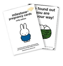 Milestone Cards Milestone Pregnancy Cards Miffy ENG