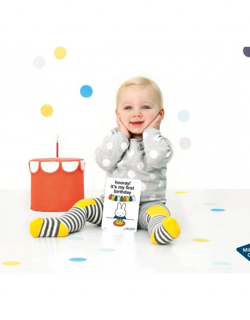 Milestone Cards Milestone Baby Cards Miffy Edition ENG