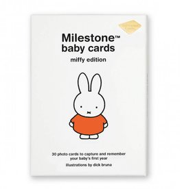 Milestone Cards Milestone Baby Cards Miffy Edition ENG