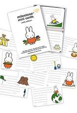 Milestone Cards  Milestone Mini Cards Miffy Edition ENG