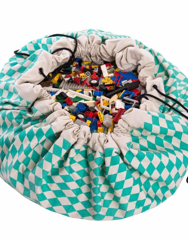 Play & Go Play&Go speelzak Diamond-Groen (mint)