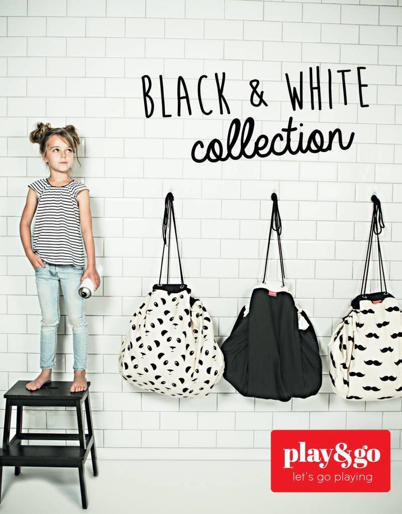 Play & Go Play&Go speelzak Zigzag zwart
