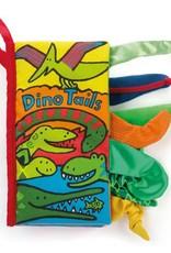 Jellycat Jellycat Dino staartenboek (Dino tails book)  21cm