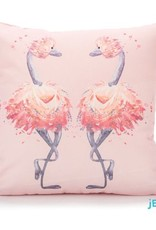Jellycat Jellycat -  Flamingo Kussen Roze (Glad To Be Me)