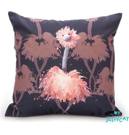 Jellycat Jellycat -  Flamingo Kussen Navy (Glad To Be Me)