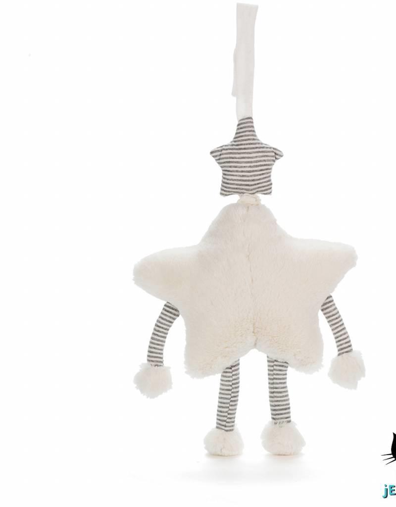 Jellycat Jellycat Little Star Muziekknuffel (Musical Pull)