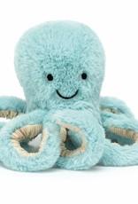 Jellycat Jellycat Bobbie Octopus Baby blauw
