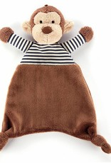 Jellycat Jellycat - Stripey Monkey Soother