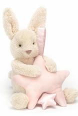 Jellycat Jellycat Muziekknuffel Star Bunny Pink Musical Pull