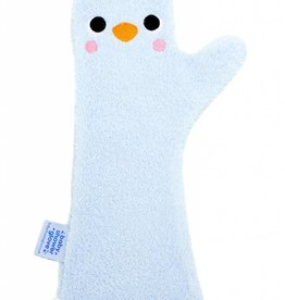 Invented 4 Kids Baby Shower Glove Blauwe Pinguïn