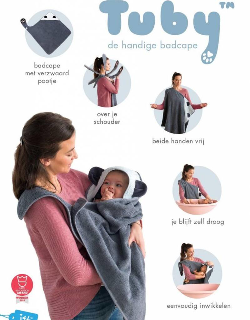 Invented 4 Kids Tuby™ badcape panda