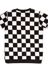 CarlijnQ CarlijnQ Checkers sweater short sleeve