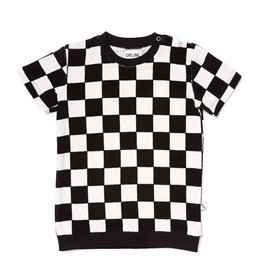 CarlijnQ CarlijnQ Checkers sweater short sleeve