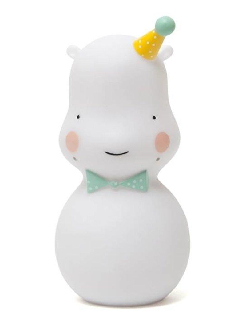 Eef Lillemor Eef Lillemor Hippo nachtlampje wit