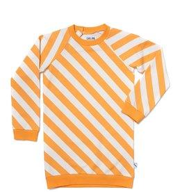 CarlijnQ CarlijnQ Sunray sweater jurk (Maat 74/80 en 98/104)