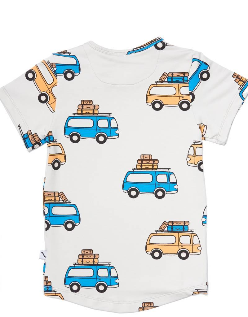 CarlijnQ | Nu -25% KORTING CarlijnQ road trippin' - t-shirt short sleeve drop back