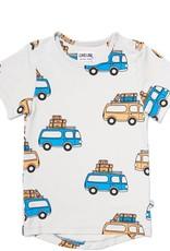 CarlijnQ CarlijnQ road trippin' - t-shirt short sleeve drop back