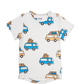 CarlijnQ CarlijnQ road trippin' - t-shirt short sleeve drop back