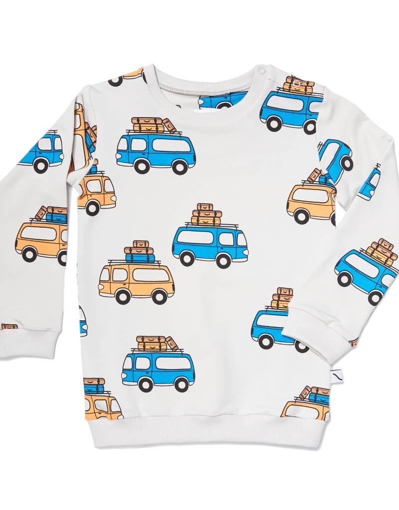 CarlijnQ CarlijnQ road trippin' - sweater (Laatste! maat 62/68)