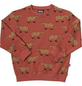 CarlijnQ CarlijnQ - Capybara sweater (Laatste! 62/68)