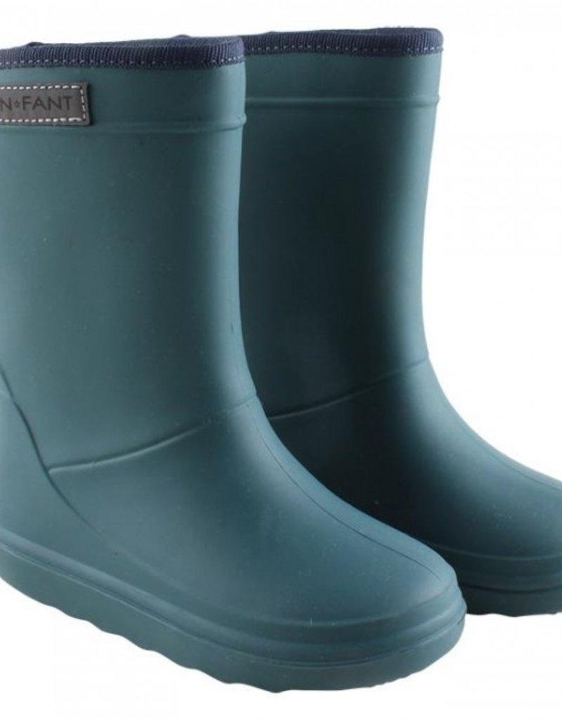 En-Fant En-Fant thermo regenlaarsjes Groen Turquoise