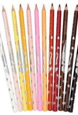 TOPModel  TOPModel 12 kleurpotloden huid- en haartinten