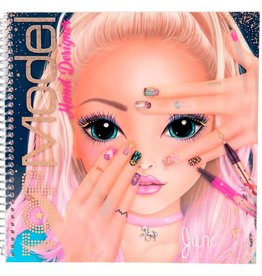 TOPModel TOPModel Create Your hand design kleurboek