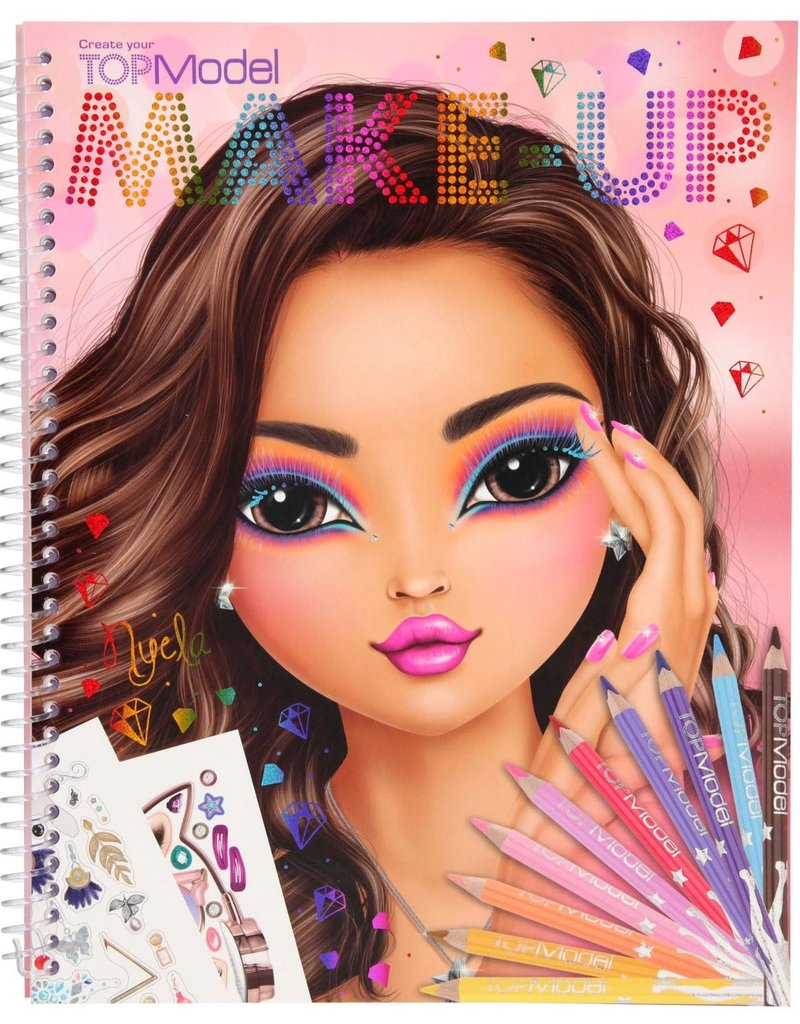 TOPModel TOPModel Make-up kleurboek