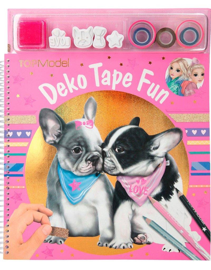TOPModel TOPModel Kleurboek met Tape Dog