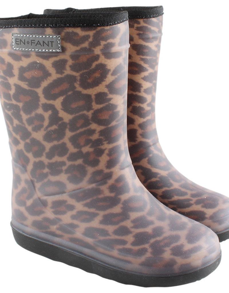 En-Fant En-Fant thermo Dames regenlaarzen Luipaard
