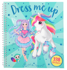 TOPModel Ylvi and the Minimoomis Dress Me Up Stickerboek