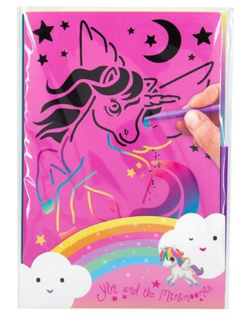 TOPModel Ylvi and the Minimoomis Krasboek unicorn