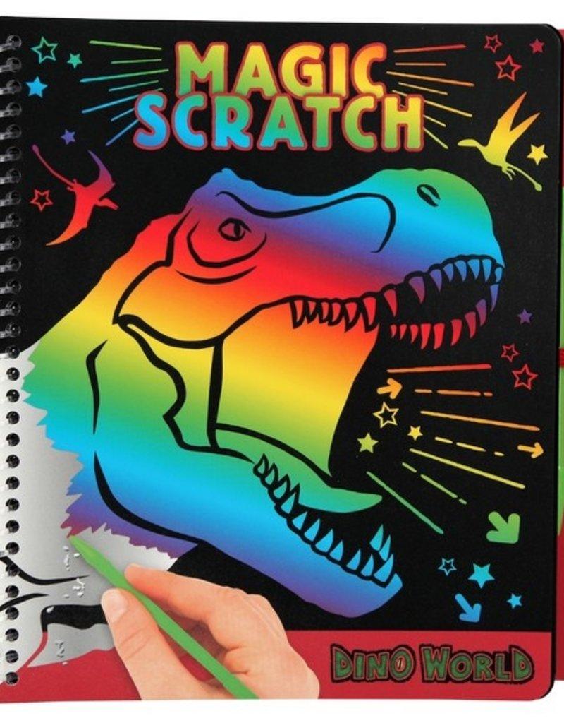 Dino World Magic Scratch Kleurboek T-Rex