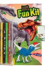 Dino World Fun Kit Kleur- en Puzzelboek