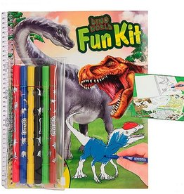 Dino World Fun Kit Kleur- en Puzzelboek