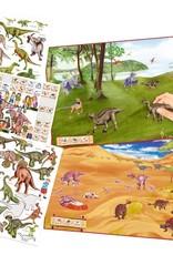 Dino World Maak je eigen Dino Zoo Stickerwereld