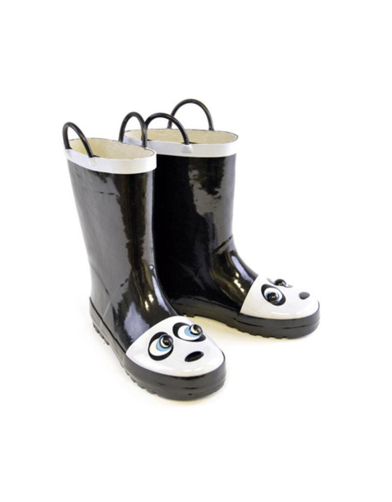 Panda kinder regenlaarsjes