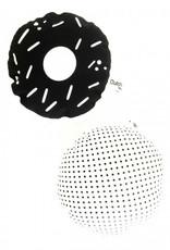 Dutch-Lifestyle Zwarte donut ratel