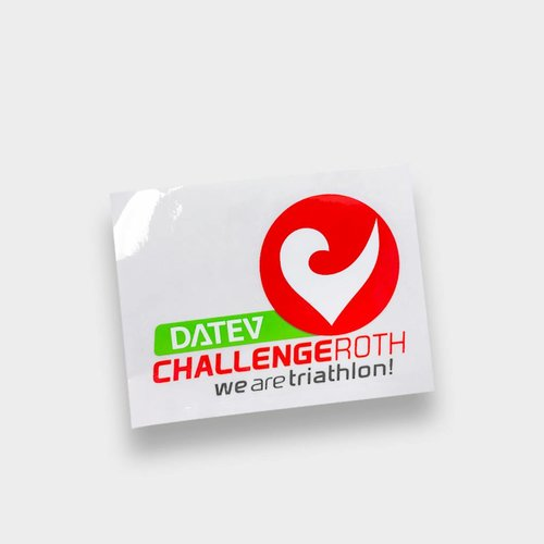 Challenge Roth Sticker small