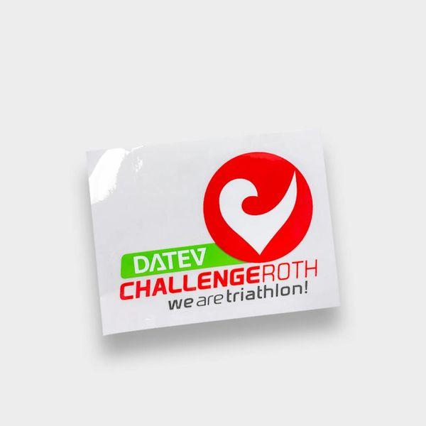 Challenge Roth Challenge Aufkleber klein