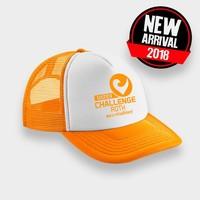 Challenge Roth Challenge Retro Cap in Orange/White