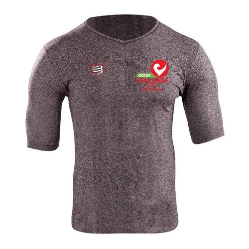Compressport Training Shirt Compressport grau