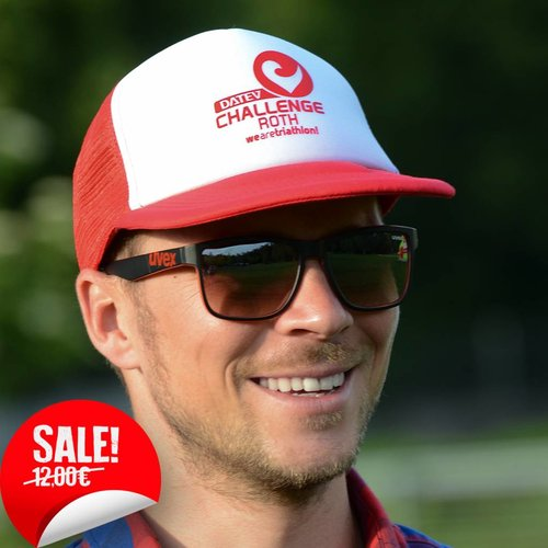 Challenge Roth Retro Cap Red/White