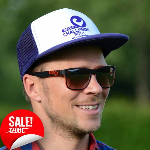 Challenge Roth Retro Cap Purple/White